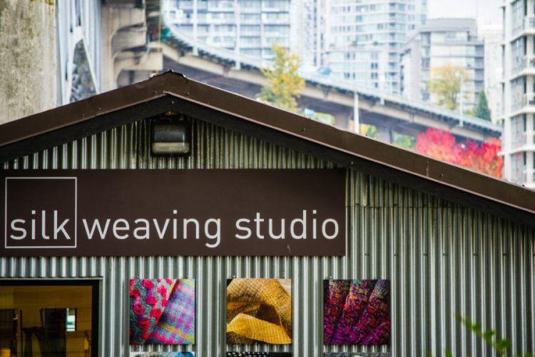 Granville Island Silk Weaving Studio Vancouver