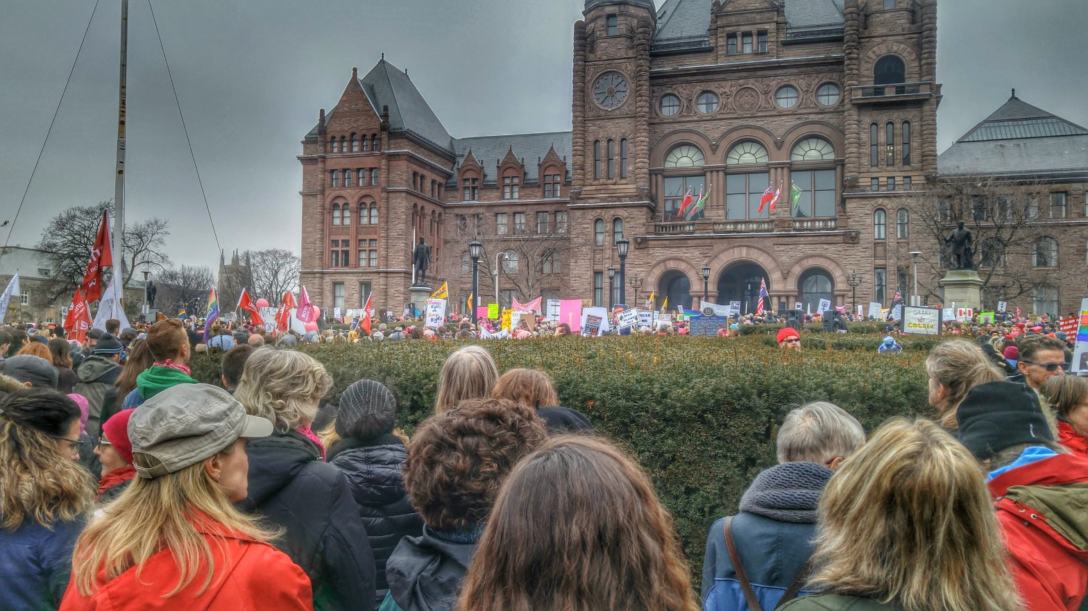 Women's March Toronto Queens Park