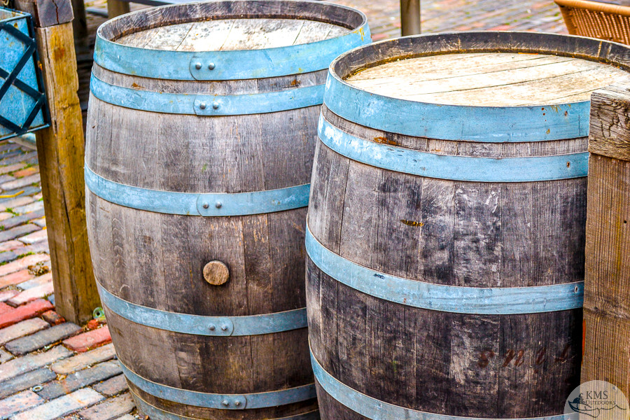 Barrels of the Distillery