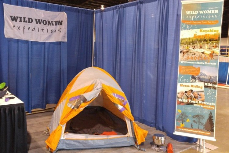 MEC's TGV 2 Tent at the Outdoor Adventure Show