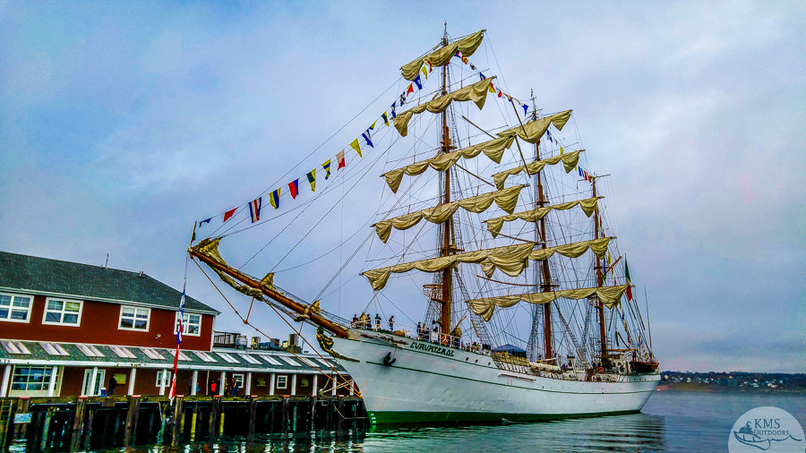 Mexican Tall Ship Halifax