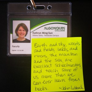 Back to school at Algonquin College