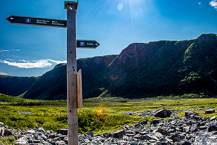 Gros Morne sign