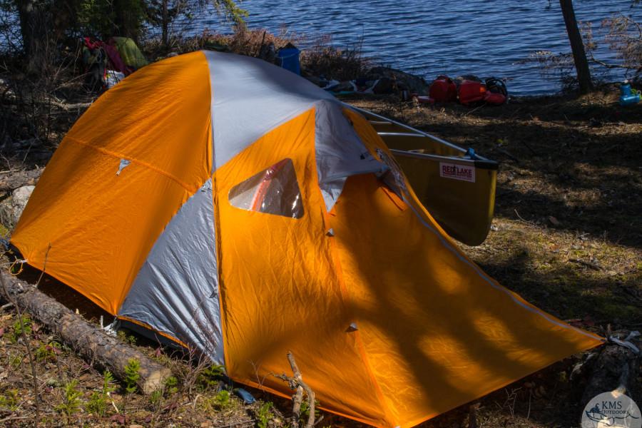 MEC's TGV 2 Tent in Woodland Caribou Provincial Park
