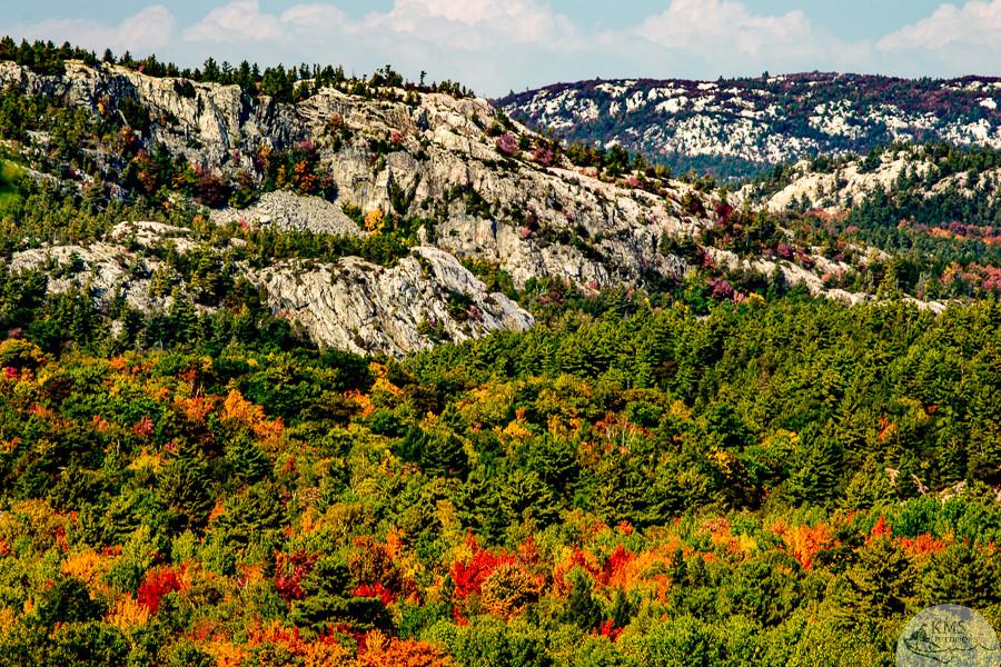 from the granite ridge trail summit