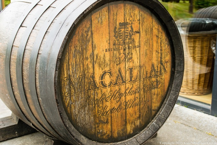 The Macallan barrel